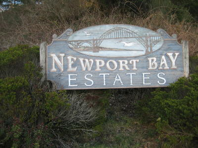 Newport Residential Lots & Land For Sale: 554 SE Running Springs St