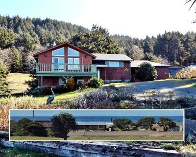 Yachats Single Family Home For Sale: 95489 Hwy 101