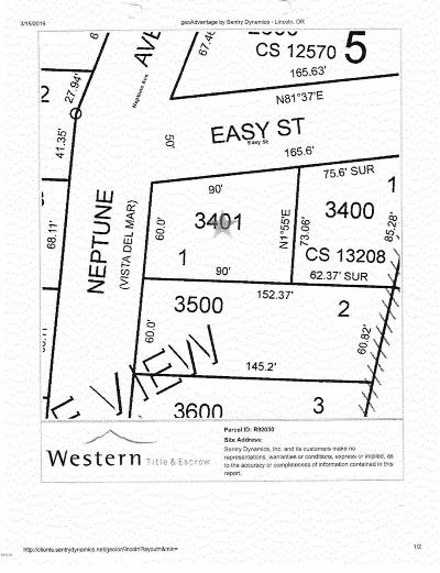 Gleneden Beach Residential Lots & Land For Sale: 6600 Blk Neptune Ave