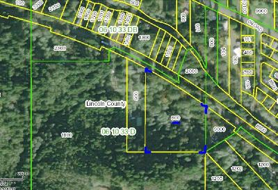 Neotsu, Otis, Rose Lodge Residential Lots & Land For Sale: 3400 Block Highway 18