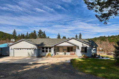 Single Family Home For Sale: 57300 SW Hebo Rd