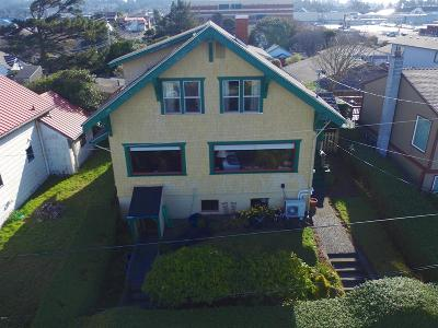 Newport Single Family Home For Sale: 19 SW Hurbert St.