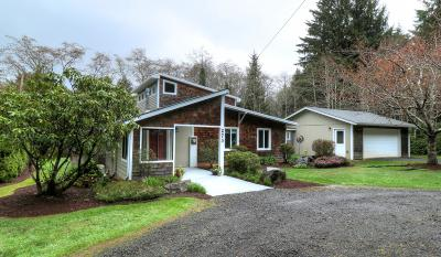 Yachats Single Family Home Pending - Contingencies: 273 NE Brubaker St