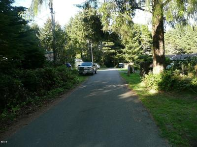 Depoe Bay, Gleneden Beach, Lincoln City, Newport, Otter Rock, Seal Rock, South Beach, Tidewater, Toledo, Waldport, Yachats Residential Lots & Land For Sale: TL02400 NE Benton St