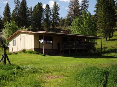Grant County Single Family Home For Sale: 44655 Highway 395