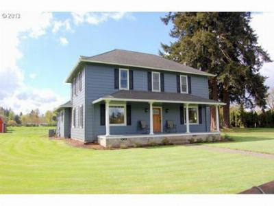 Canby Single Family Home Sold: 11592 S Mulino Rd