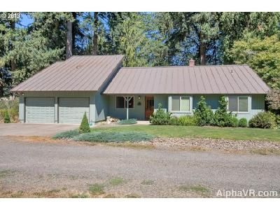 Canby Single Family Home Sold: 10257 S Kraxberger Rd