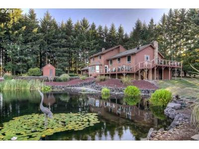 Aumsville Single Family Home Sold: 9177 Silver Falls Hwy SE