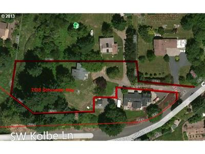 Residential Lots & Land Sold: 7535 SW Schroeder Way