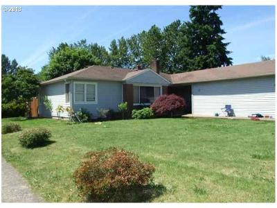 Salem OR Single Family Home Sold: $137,500