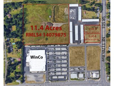 Vancouver Residential Lots & Land For Sale: 12214 NE 117th Ave