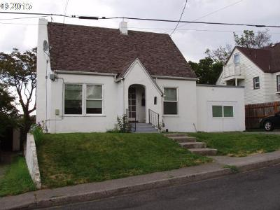 Pendleton Multi Family Home For Sale: 626 SW 8th St