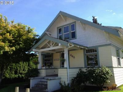 Hillsboro Single Family Home For Sale: 446 SE Washington St