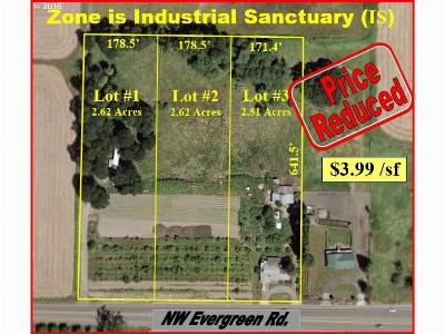 Hillsboro Residential Lots & Land For Sale: 25635 NW Evergreen Rd