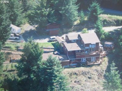 North Bend Single Family Home For Sale: 71002 Majestic Shores Rd