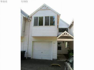 Canby Condo/Townhouse Sold: 167 SW 3rd Ave
