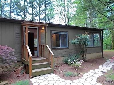 Manufactured Home Sold: 39501 NE 22nd St