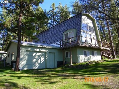 Goldendale WA Single Family Home Sold: $225,000