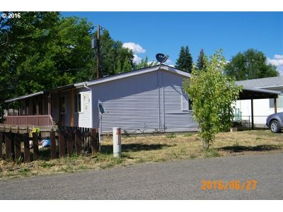 Goldendale WA Single Family Home Sold: $75,000