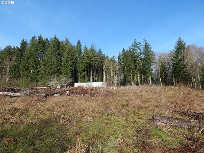 Clatskanie OR Residential Lots & Land Sold: $123,000