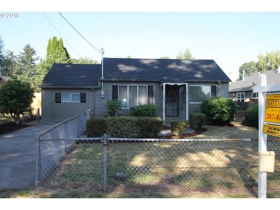 Single Family Home Sold: 4645 NE 99th Ave