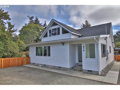 Coos Bay Single Family Home For Sale: 570 6th Ave