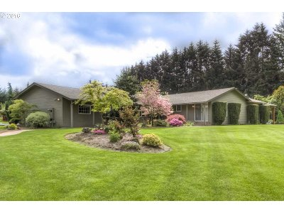 Aumsville Single Family Home Sold: 5828 Shaw Hwy SE