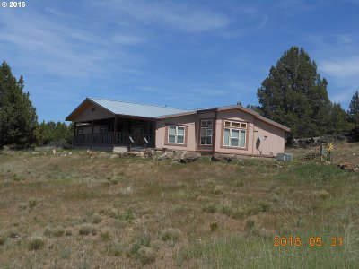 Grant County Single Family Home For Sale: 57620 Coyote Trail Ln