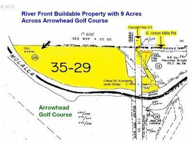 Oregon City, Beavercreek, Molalla, Mulino Residential Lots & Land For Sale: Hwy 213 #Lt300