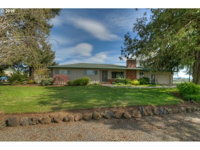 Sublimity Single Family Home Sold: 14934 Silver Falls Hwy