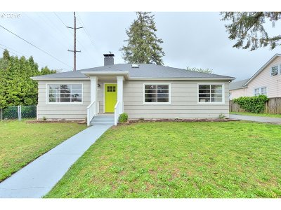 Single Family Home Sold: 1440 NE 76th Ave