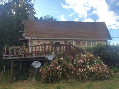 Scappoose Single Family Home For Sale: 30333 Cater Rd