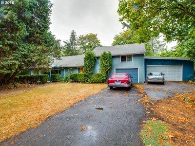 Aloha Single Family Home For Sale: 1505 SW 192nd Ave