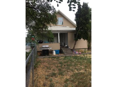 La Grande OR Single Family Home For Sale: $128,500