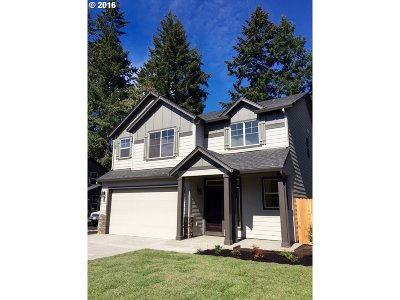 Vancouver WA Single Family Home Sold: $330,000