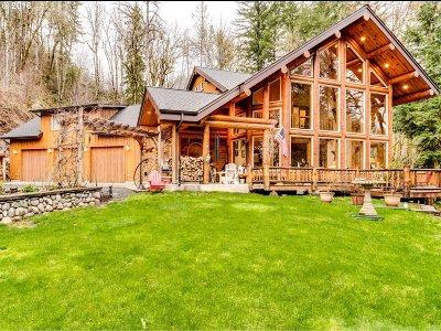 Lane County Single Family Home For Sale: 45727 N Gate Creek Rd