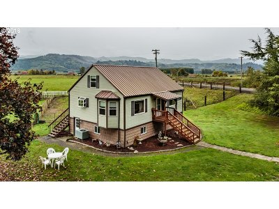 Clatskanie Single Family Home For Sale: 13876 River Front Rd