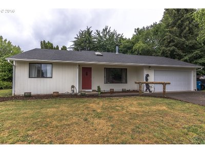Stayton Single Family Home Sold: 1345 Westown Dr