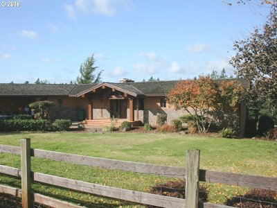 Clackamas County Single Family Home For Sale: 25861 S Larkin Rd