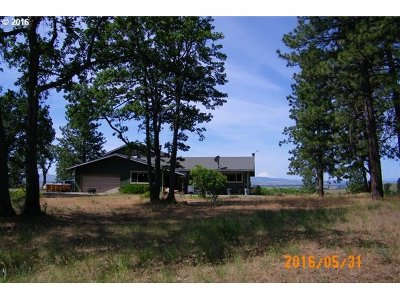 Goldendale WA Single Family Home Sold: $272,000