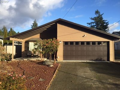 North Bend Single Family Home For Sale: 1987 Ash Ave