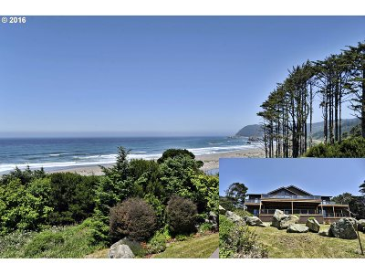 Gold Beach OR Single Family Home For Sale: $1,750,000