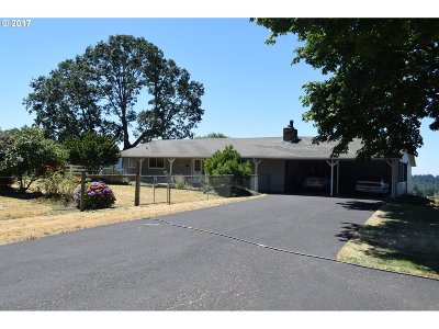 Molalla Single Family Home Bumpable Buyer: 17409 S Callahan Rd