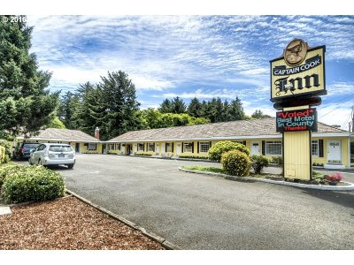 Lincoln City Commercial For Sale: 2626 NE Hwy 101