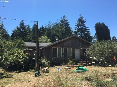 Bandon Single Family Home For Sale: 87232 McTimmons Ln