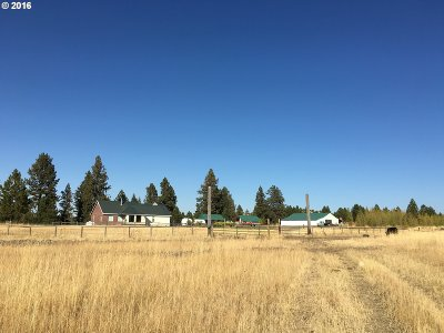 Umatilla County Single Family Home For Sale: 54900 Wildhorse Rd