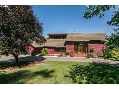 Multnomah County, Clackamas County, Washington County Single Family Home For Sale: 19990 SW Seiffert Rd
