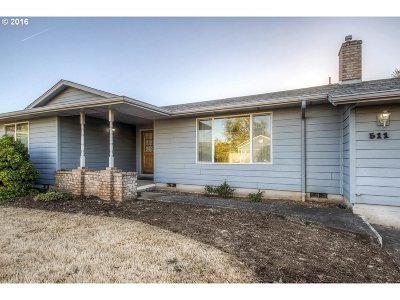 Sublimity Single Family Home Sold: 511 SW Dalmatian St