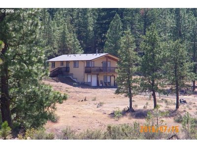 Goldendale WA Single Family Home Sold: $260,000