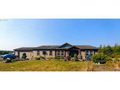 Bandon Single Family Home For Sale: 60979 Seven Devils Rd